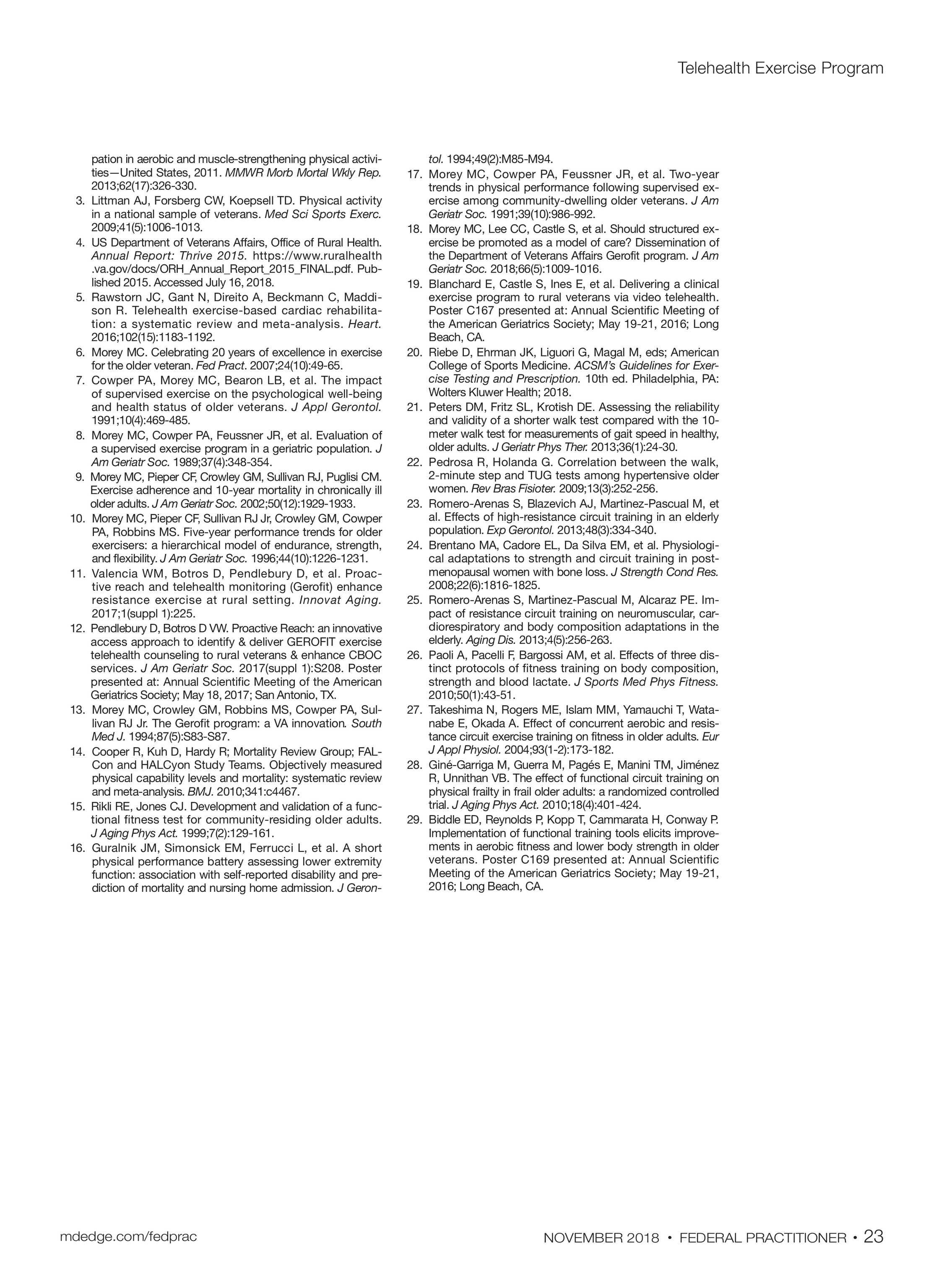 Federal Practitioner - November2018 - page 30