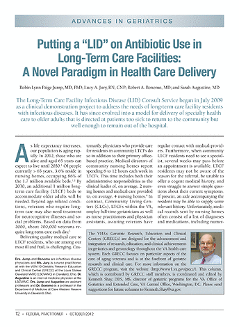 Federal Practitioner October 2012 Page 12 13