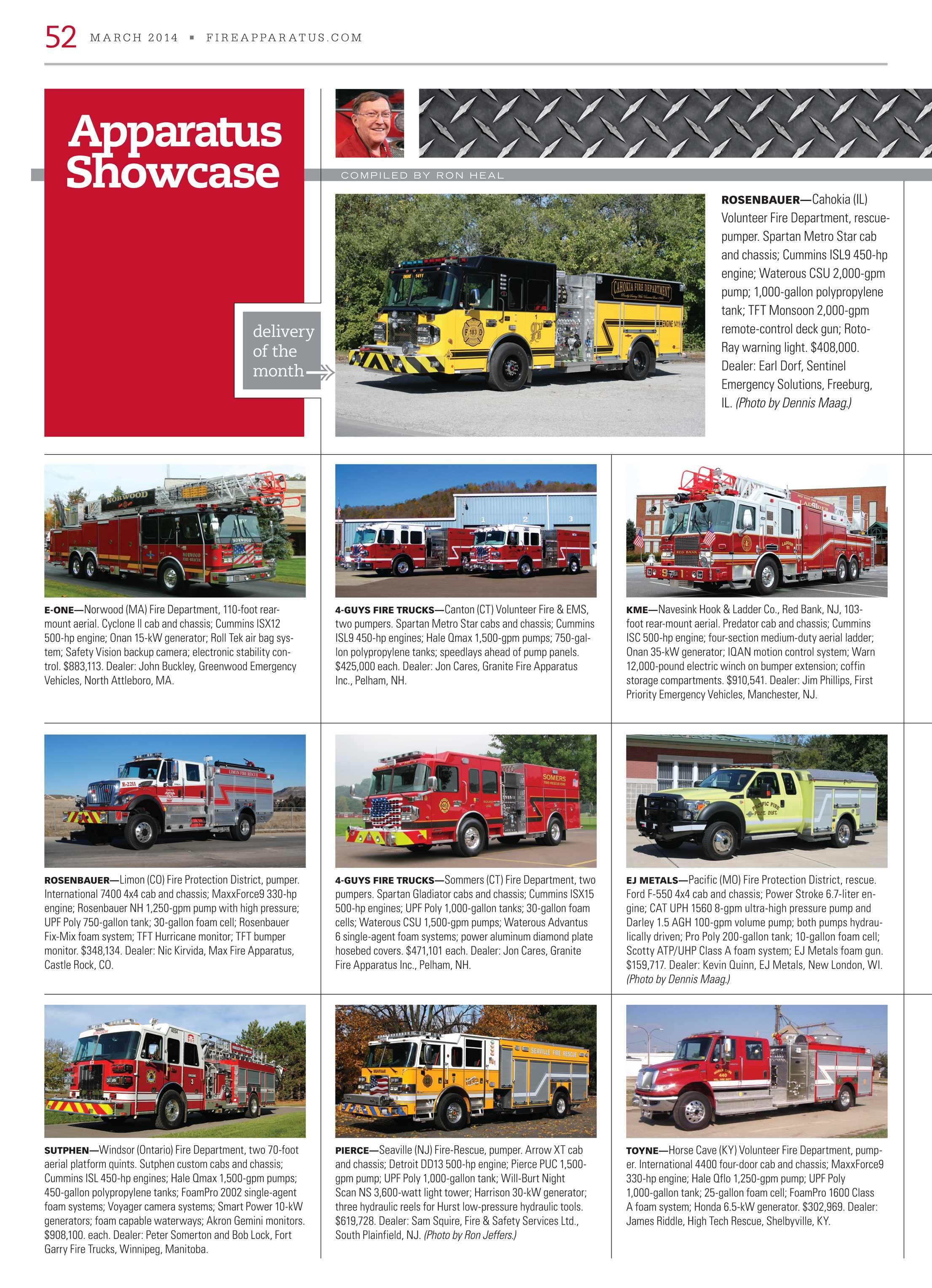 Fire Apparatus Magazine - March 2014 - page 52