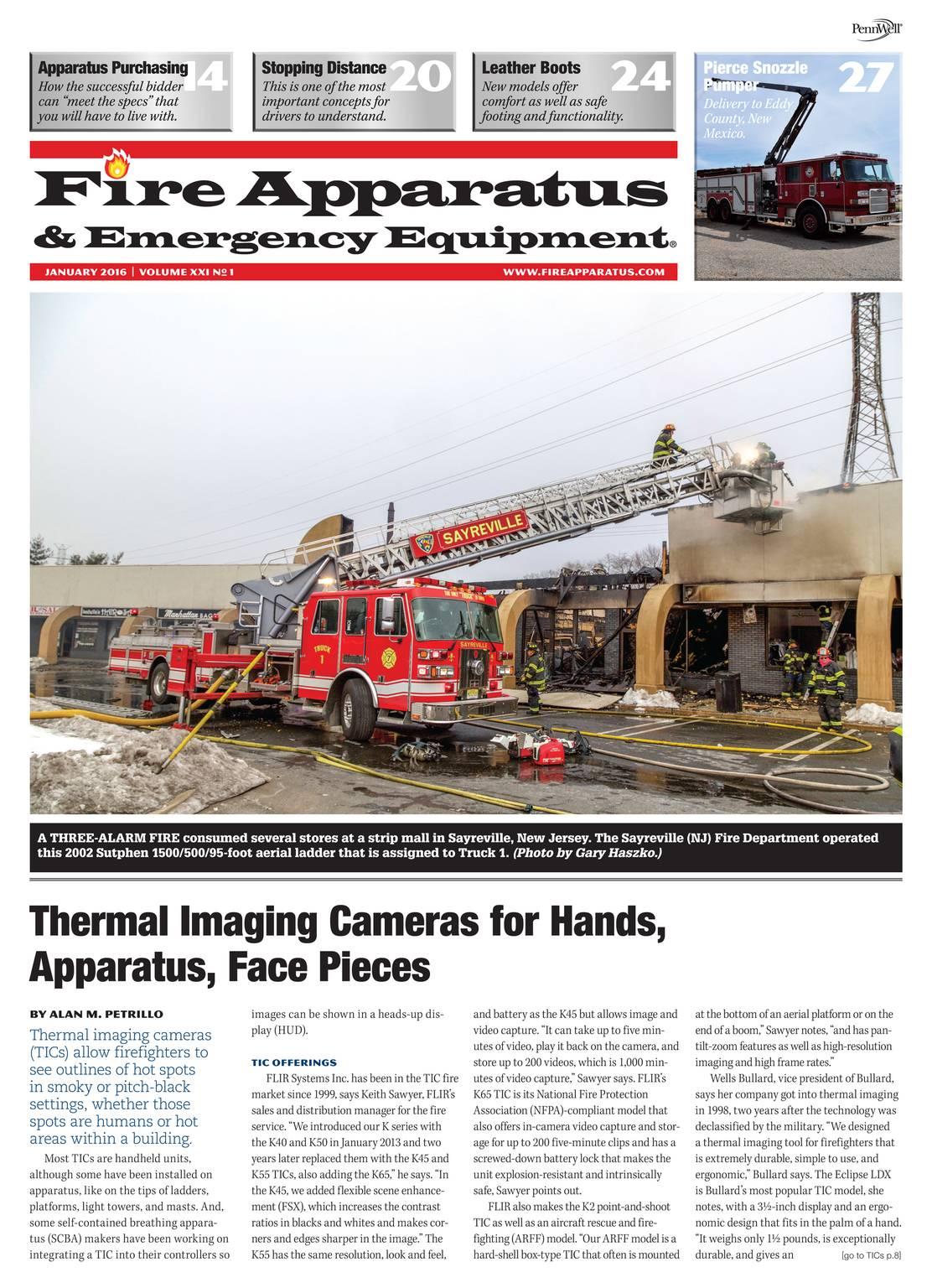 Fire Apparatus Magazine - January 2016 - page 2