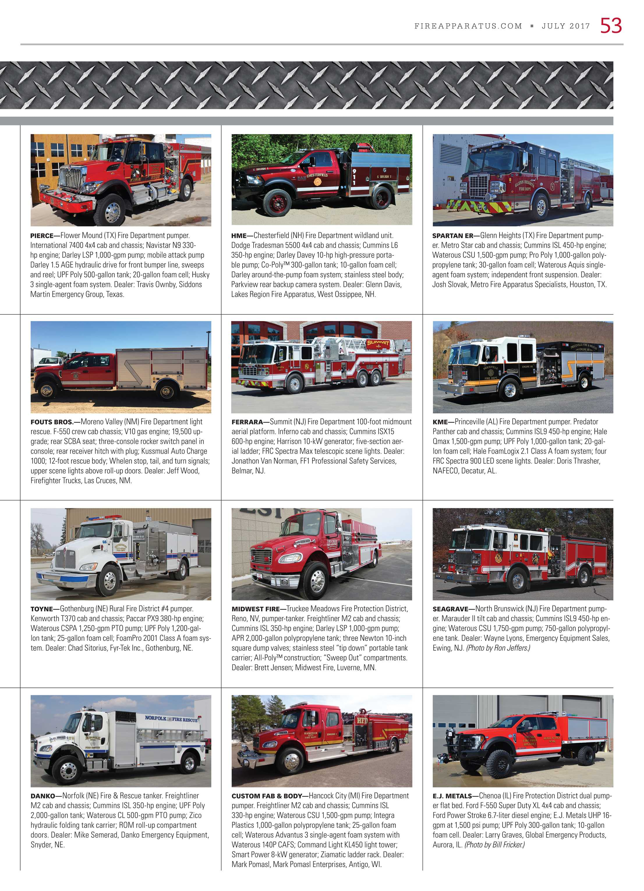 Fire Apparatus Magazine - July 2017 - page 53