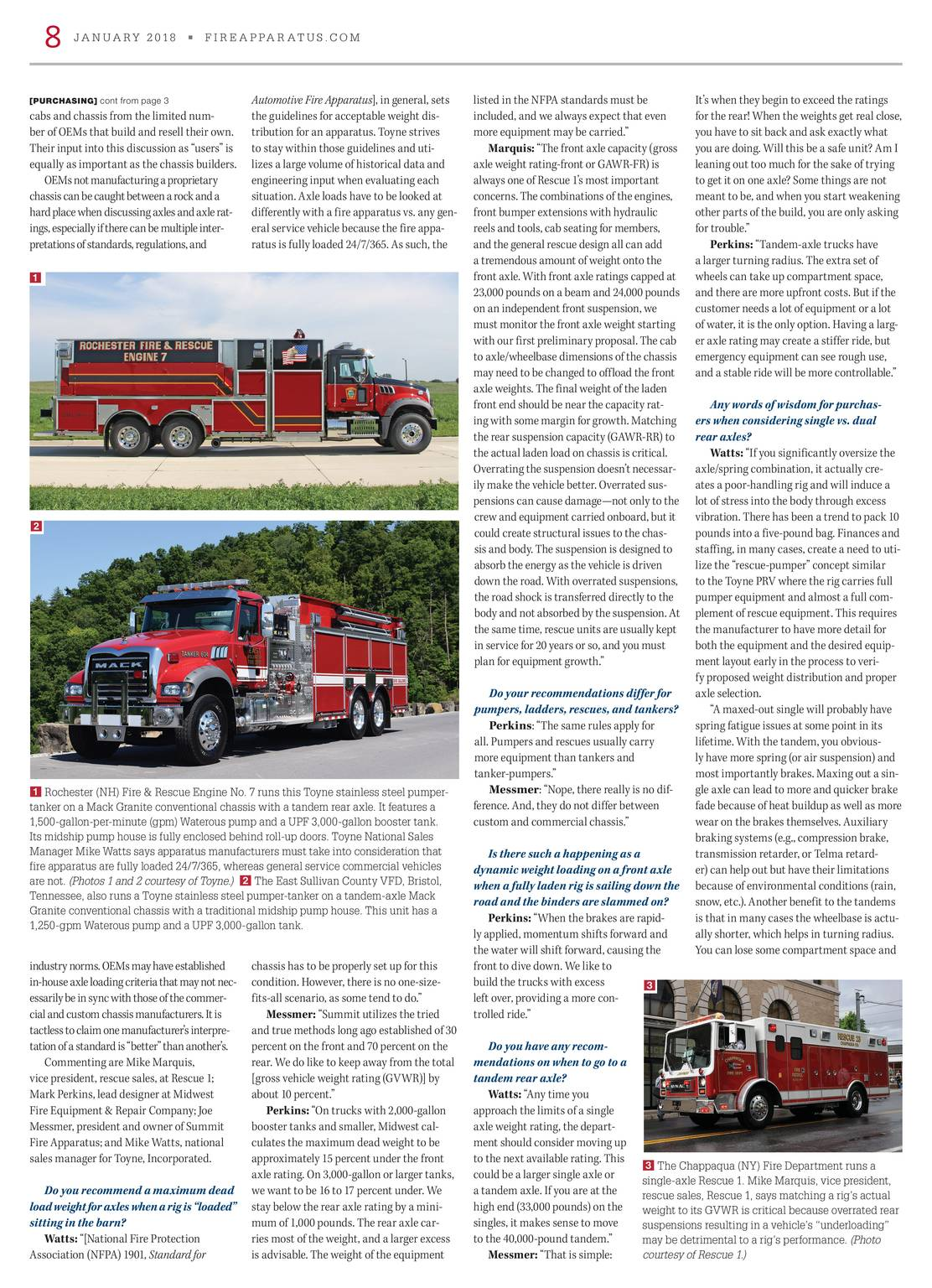 Fire Apparatus Magazine - January 2018 - page 9