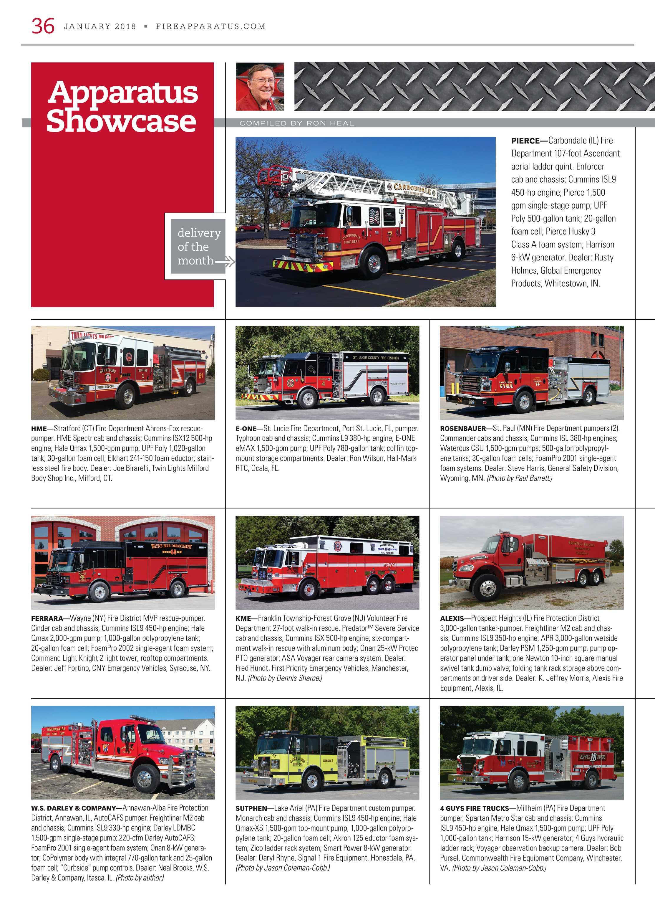 Fire Apparatus Magazine - January 2018 - page 36