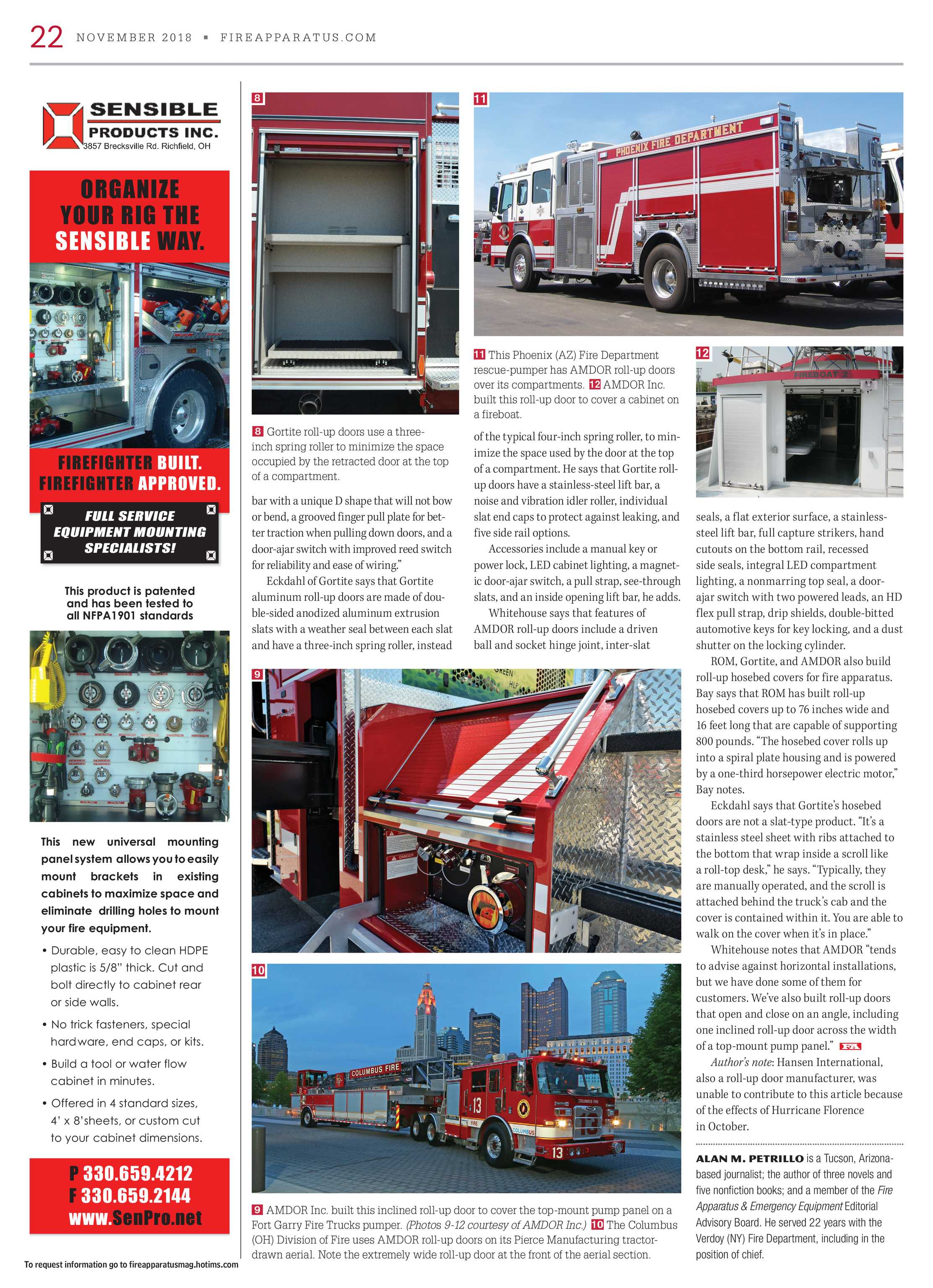 Brilliant Fire Apparatus Magazine November 2018 Page 22 Wiring Cloud Usnesfoxcilixyz