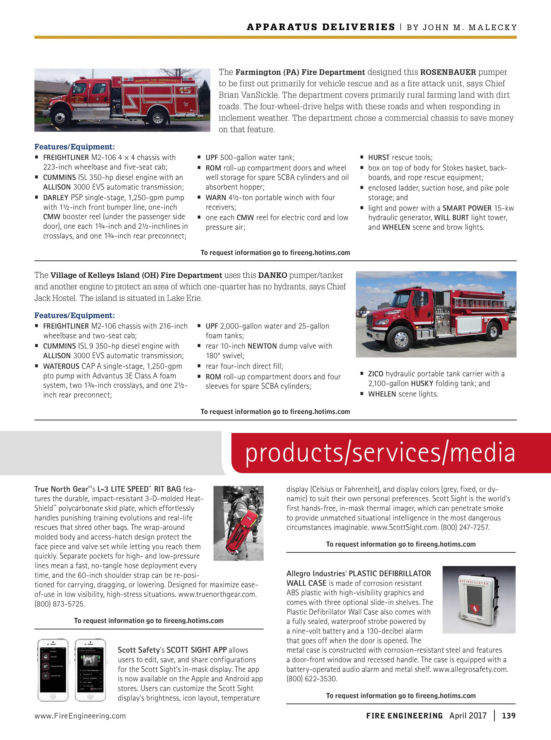 Fire Engineering - April 2017 - page 139