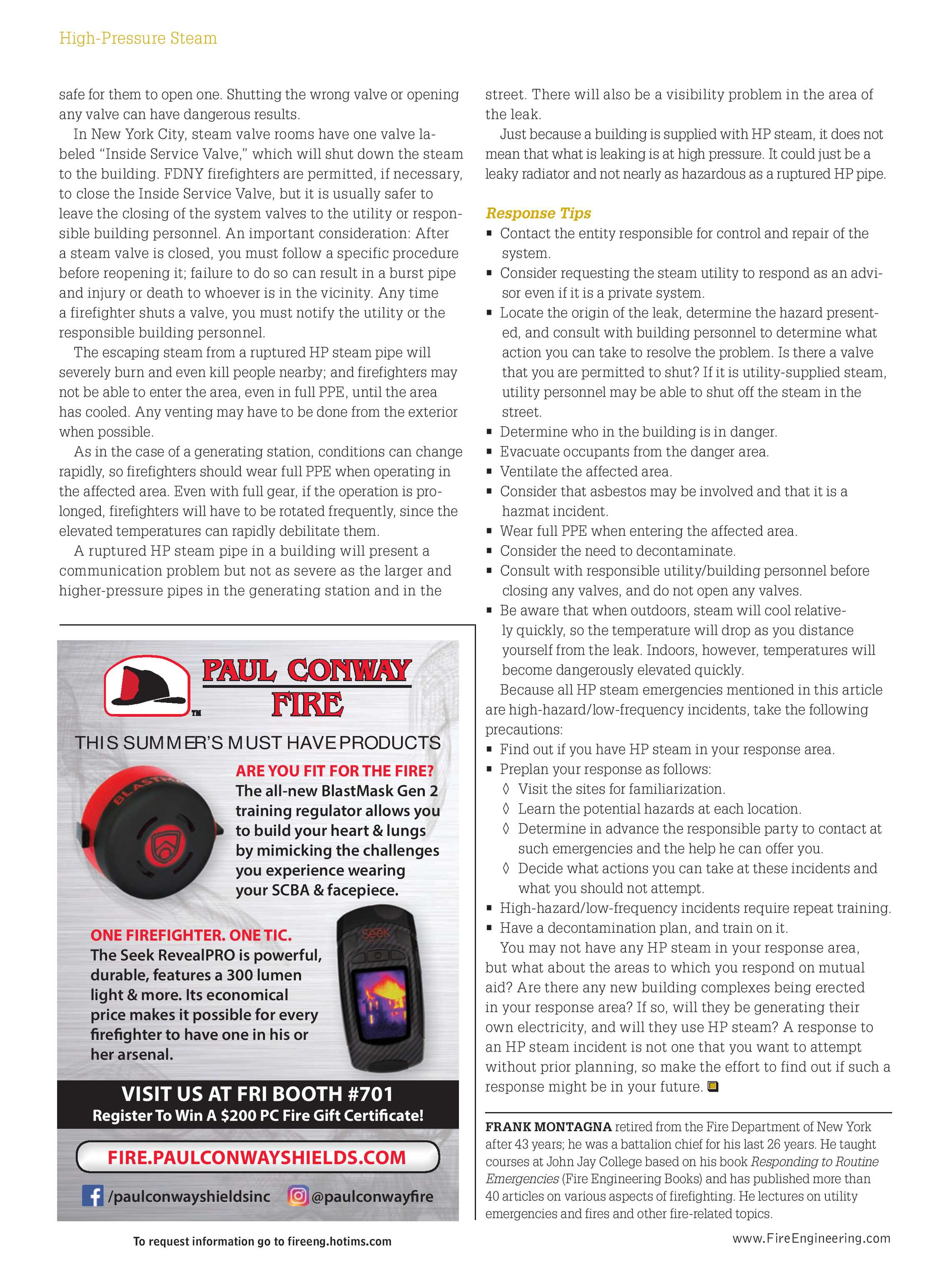 Fire Engineering - June 2017 - page 70