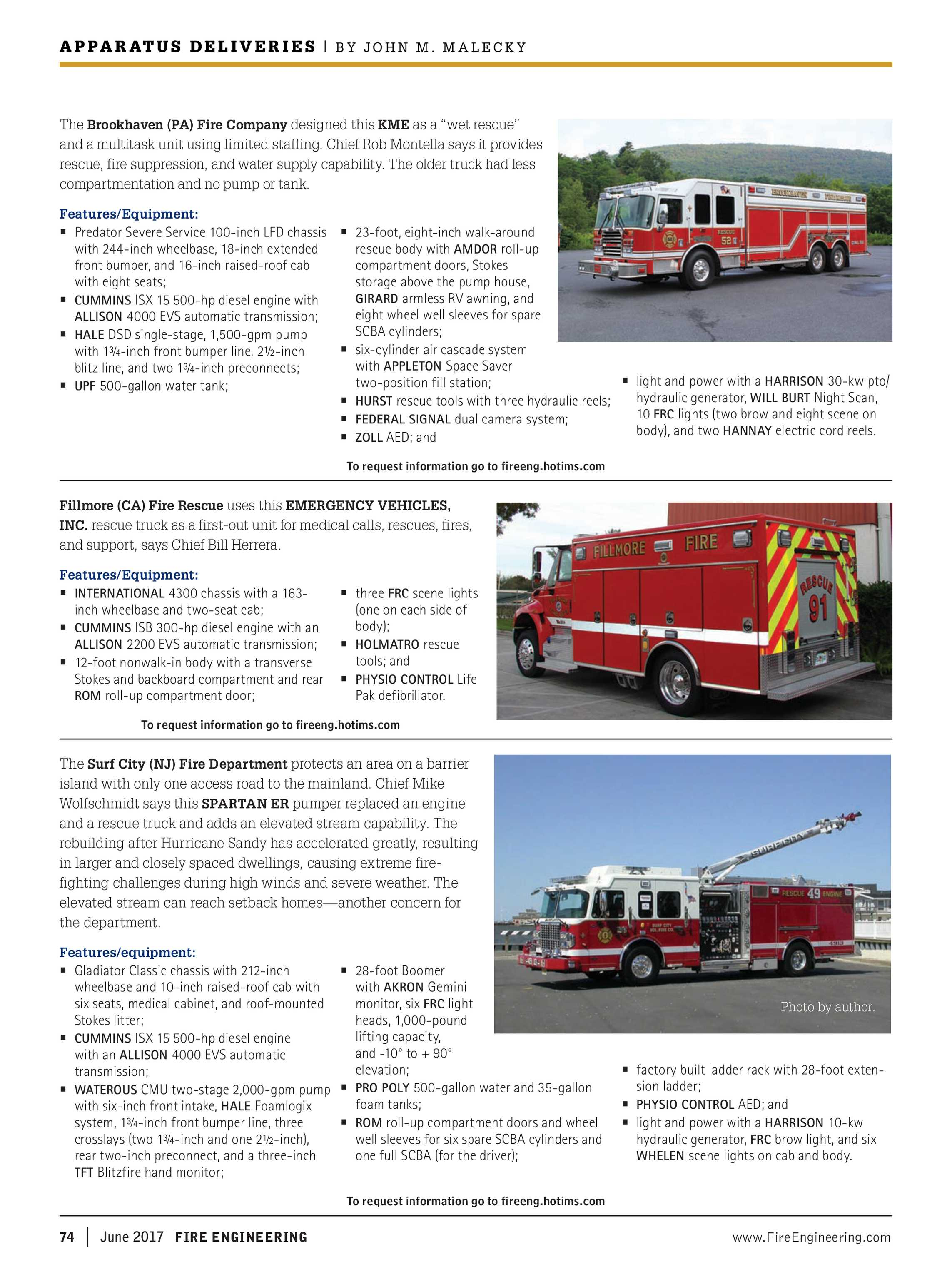 Fire Engineering - June 2017 - page 74