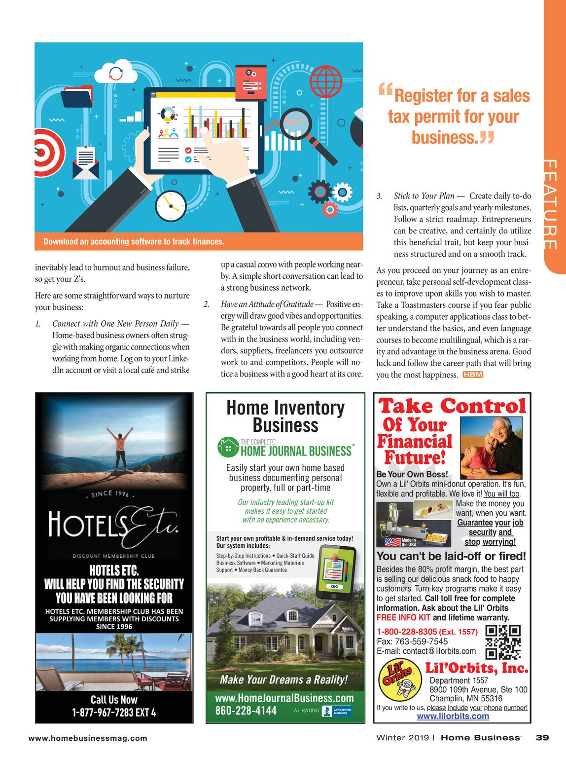Home Business Magazine - Winter 2019 - page 38