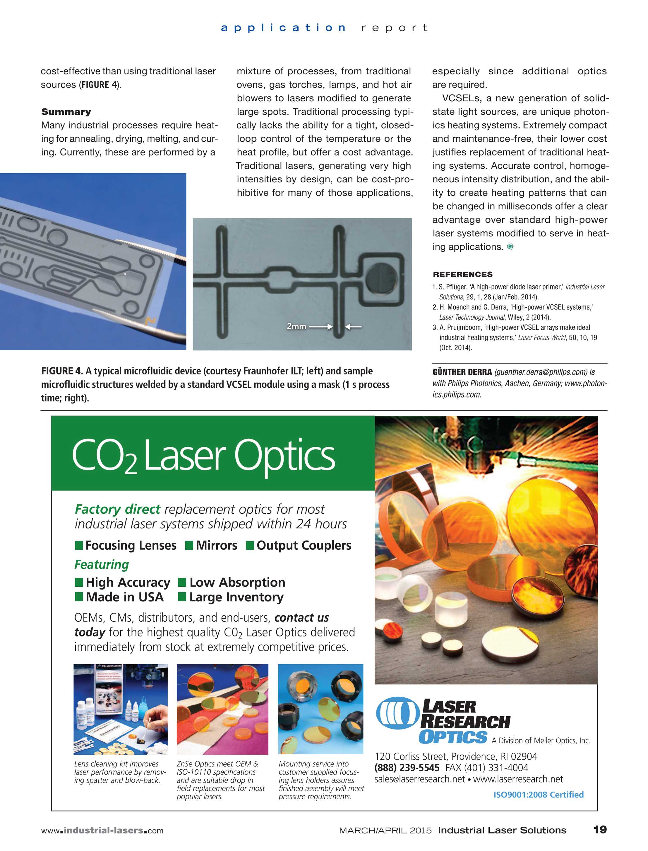 Industrial Laser Solutions - March/April 2015 - page 19