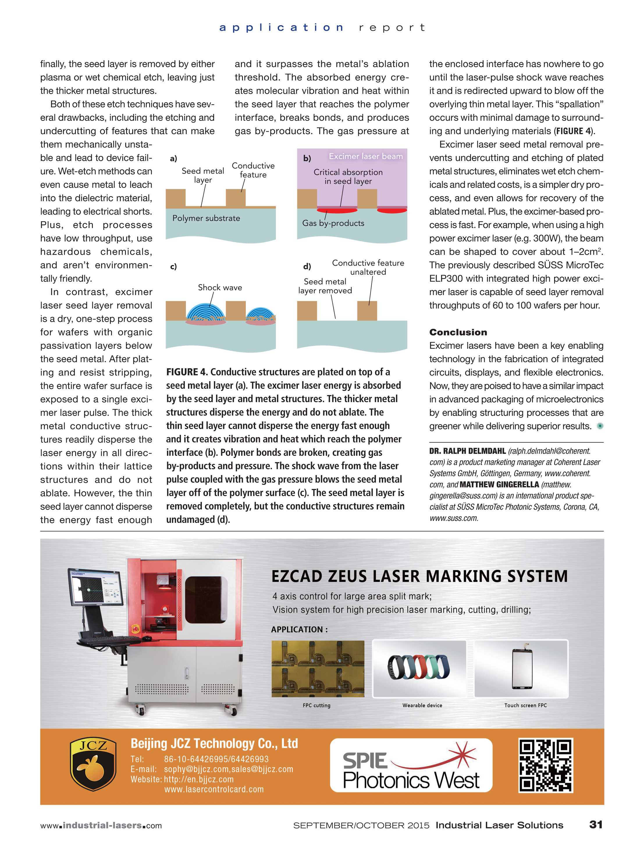 Industrial Laser Solutions - September/October 2015 - page 31