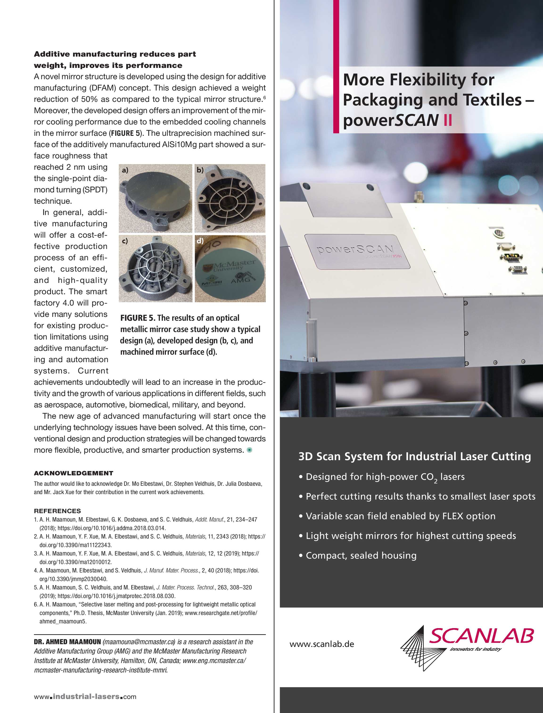 Industrial Laser Solutions - March/April 2019 - page 17