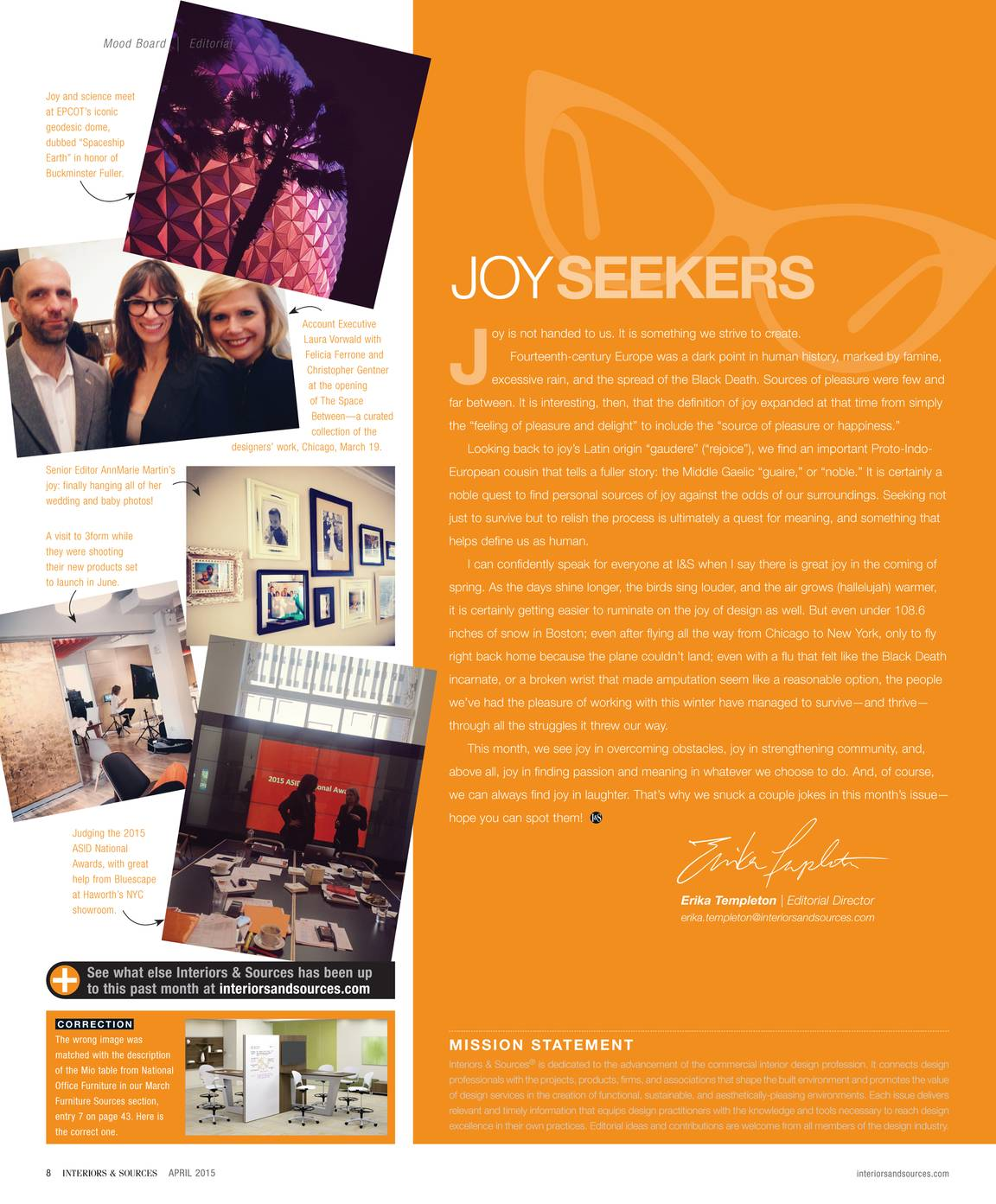 Interiors and Sources - April 2015 - page 7