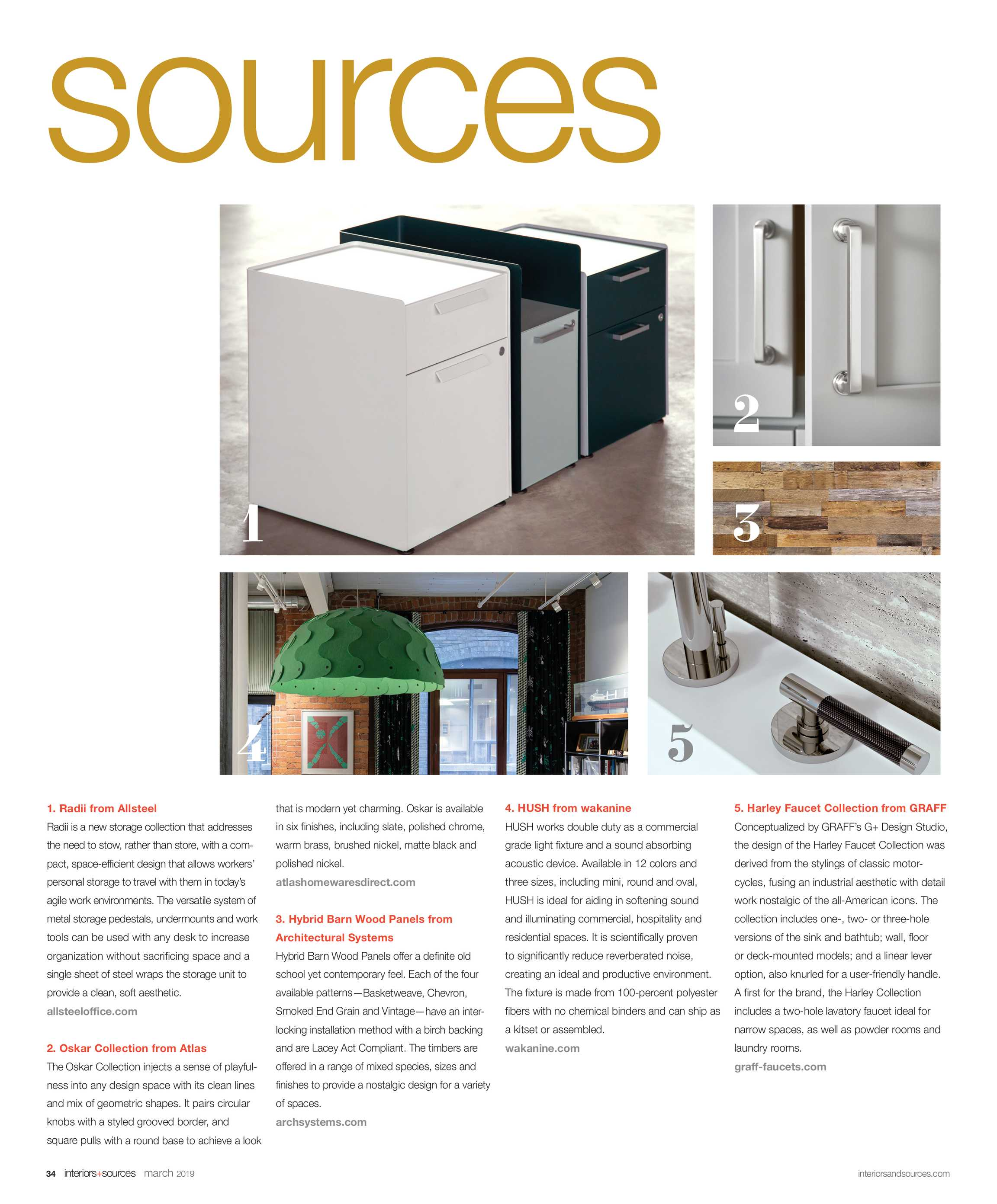 Interiors and Sources - March 2019 - page 34