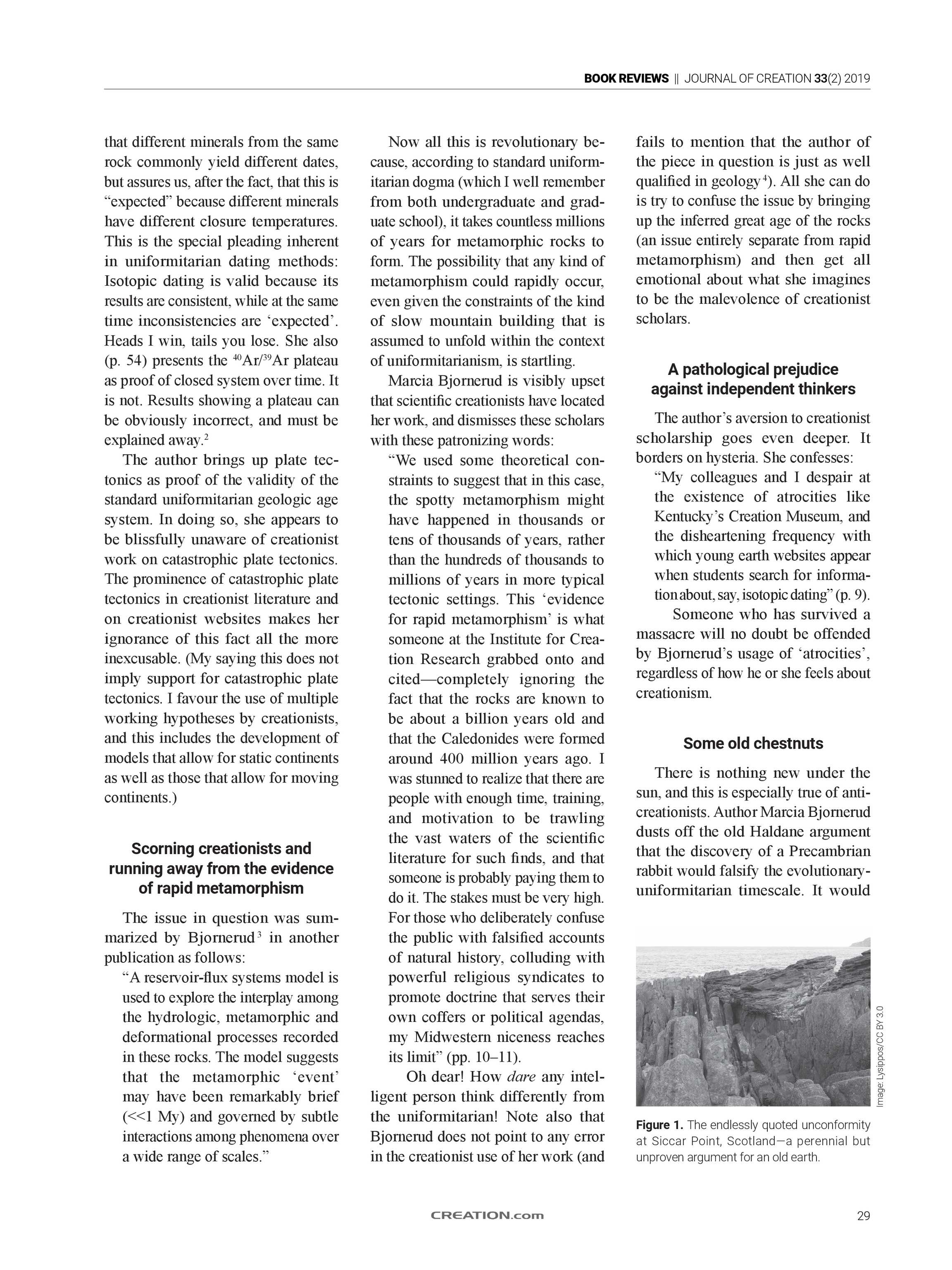 Journal of Creation - 2019 Volume 33 Issue 2 - page 30