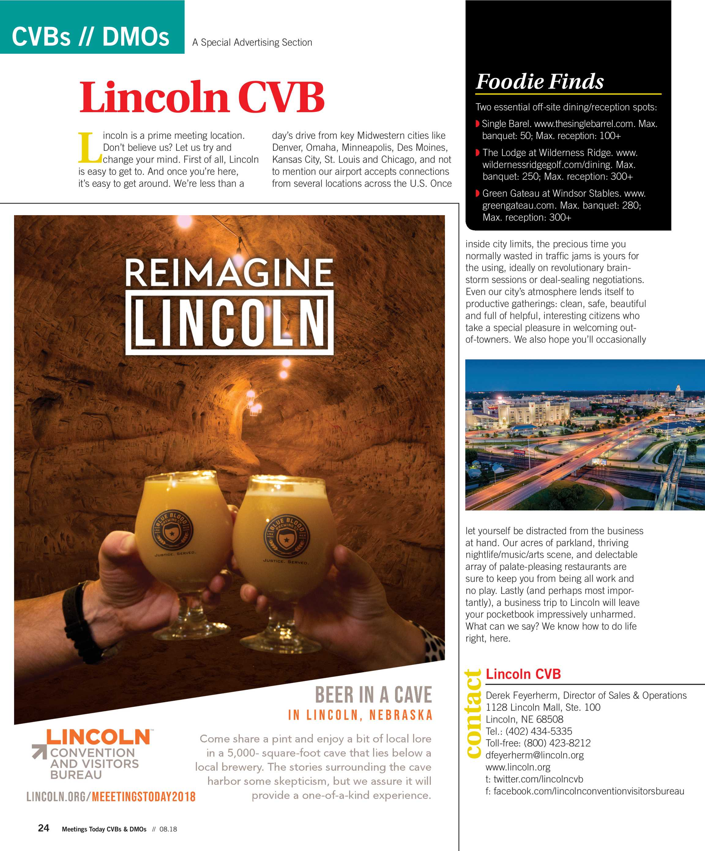 Denver To Omaha Drive meetings today - cvb guide 2018 - page 24