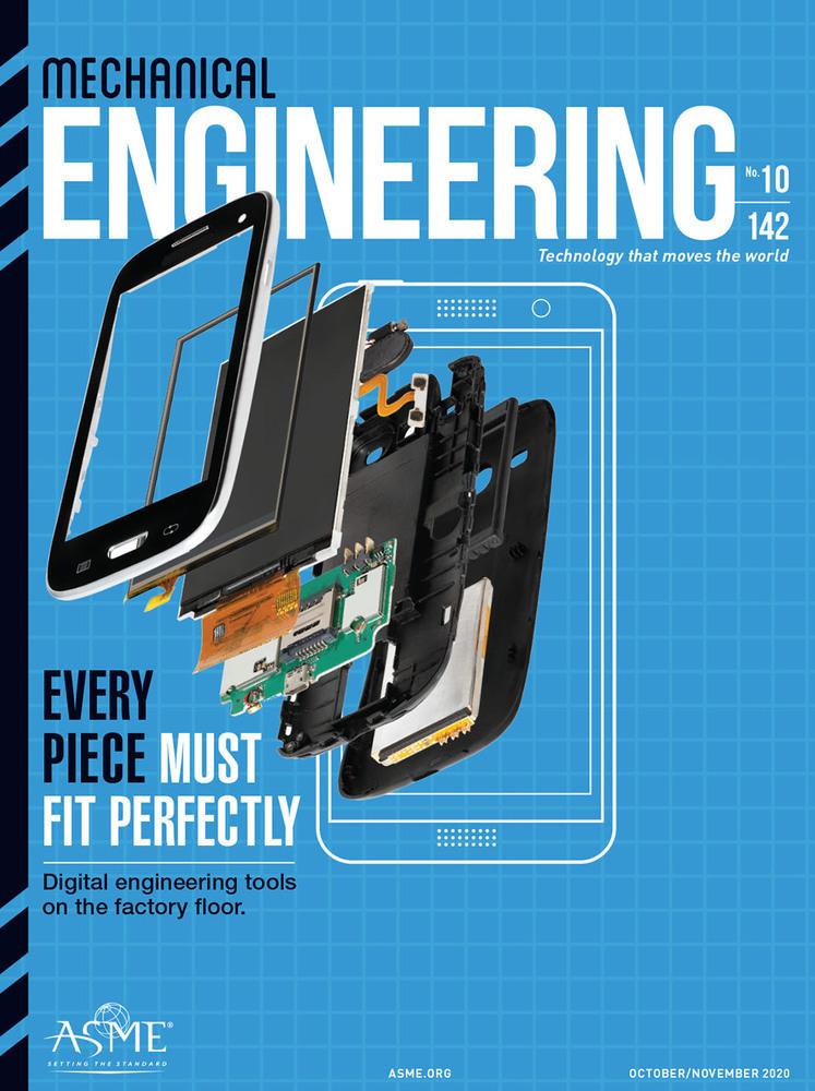 Mechanical Engineering Magazine October November 2020 Cover