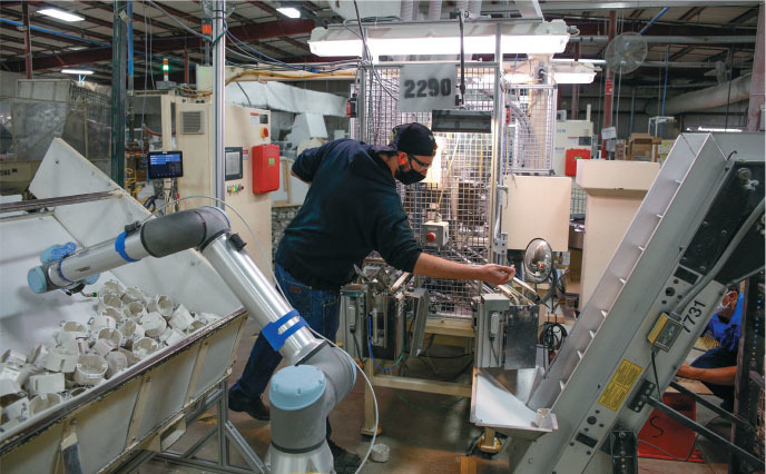 automation has required operations to look at safety from a variety of new angles when it comes to working side by side