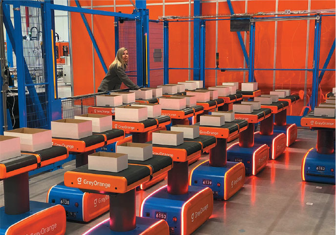 dutch company active recently implemented ranger movesmart robots directed by the greymatter