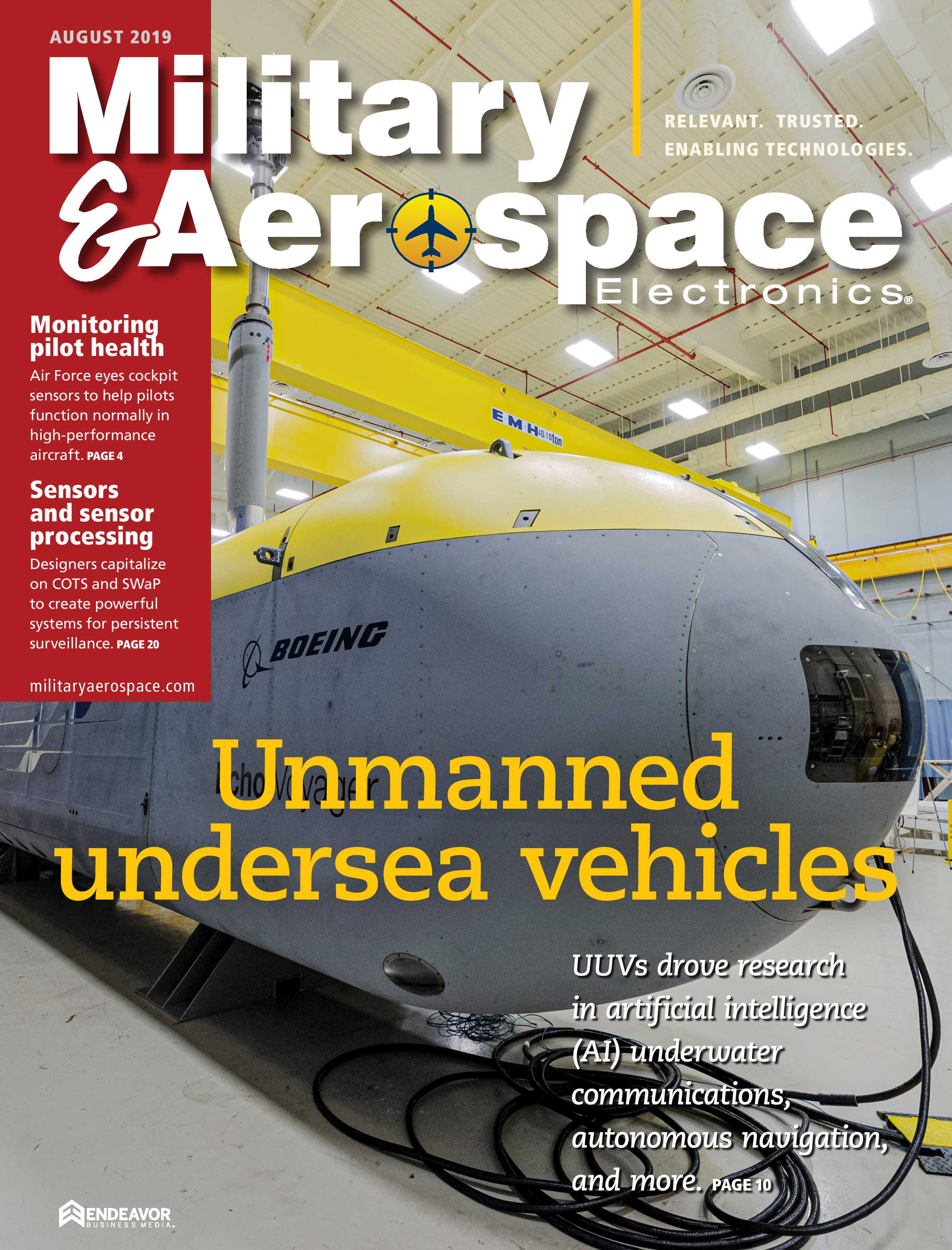Military & Aerospace Electronics - August 2019 - page Cover