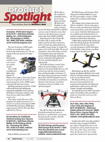 Model Aviation - June 2013