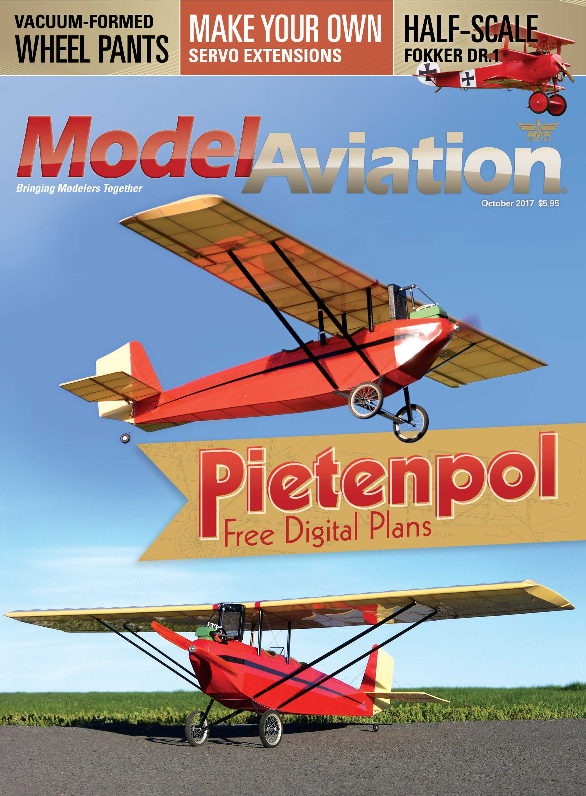 Model Aviation - October 2017 - page Cover