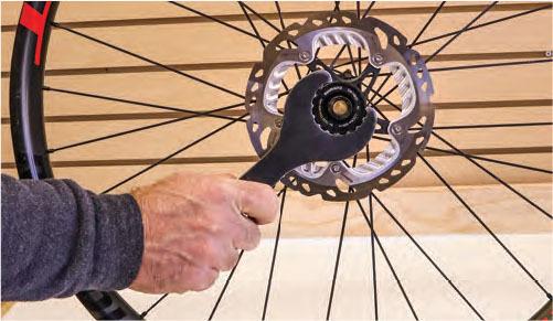 remove the brake rotor
