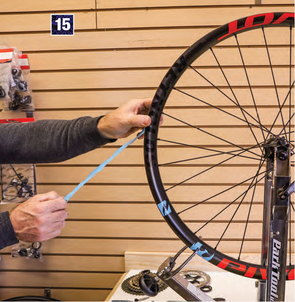 install rim tape on a tubeless wheel