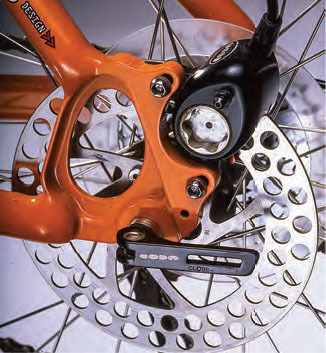 check out the rear dropout and coda disc brake