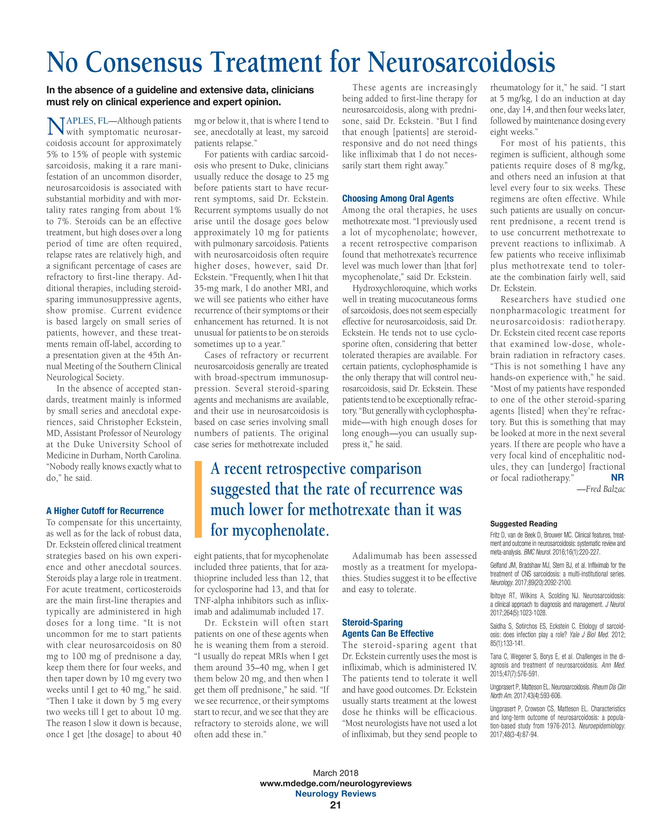 Neurology Reviews - March 2018 - page 20