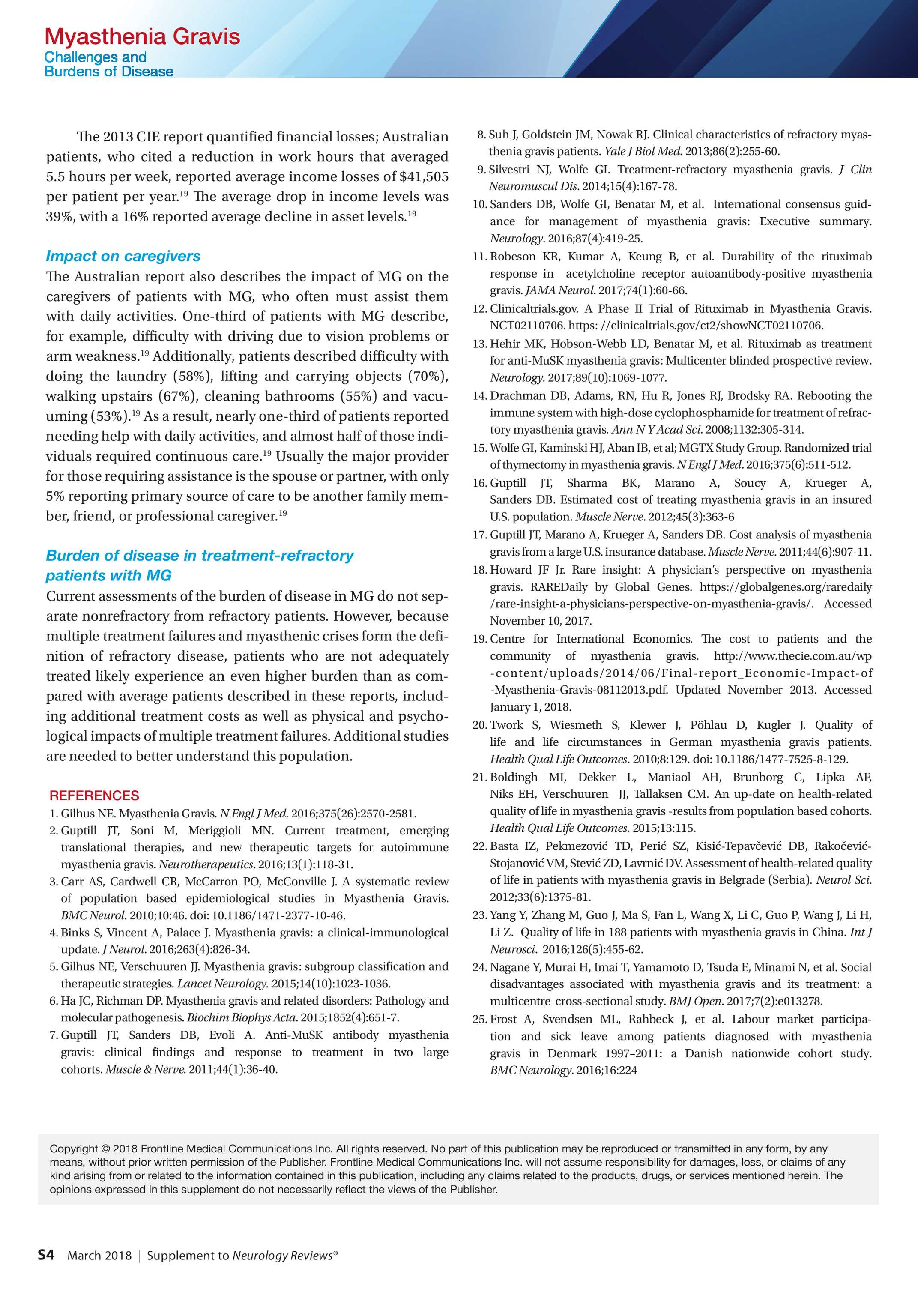 Neurology Reviews - NORD Supplement 0318 - page 49