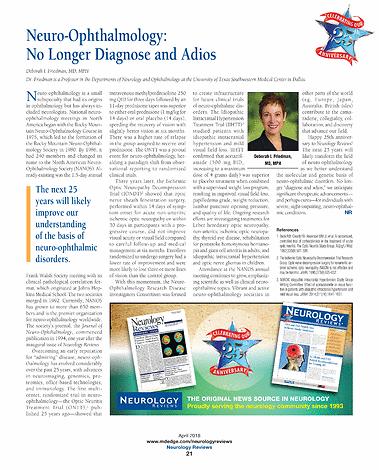 Neurology Reviews - NR April 2018 - page 21