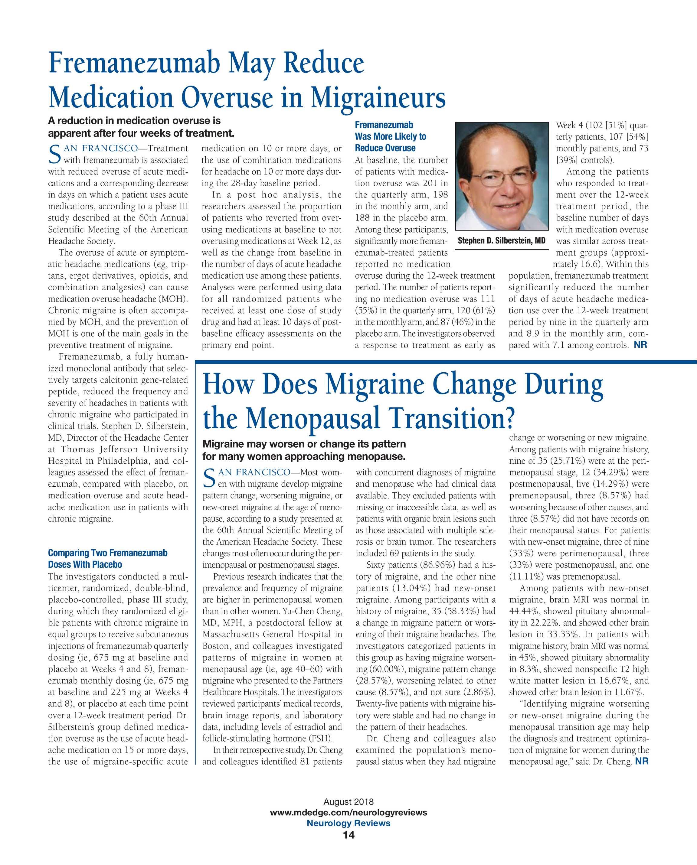 Neurology Reviews - NR Aug 2018 - page 15
