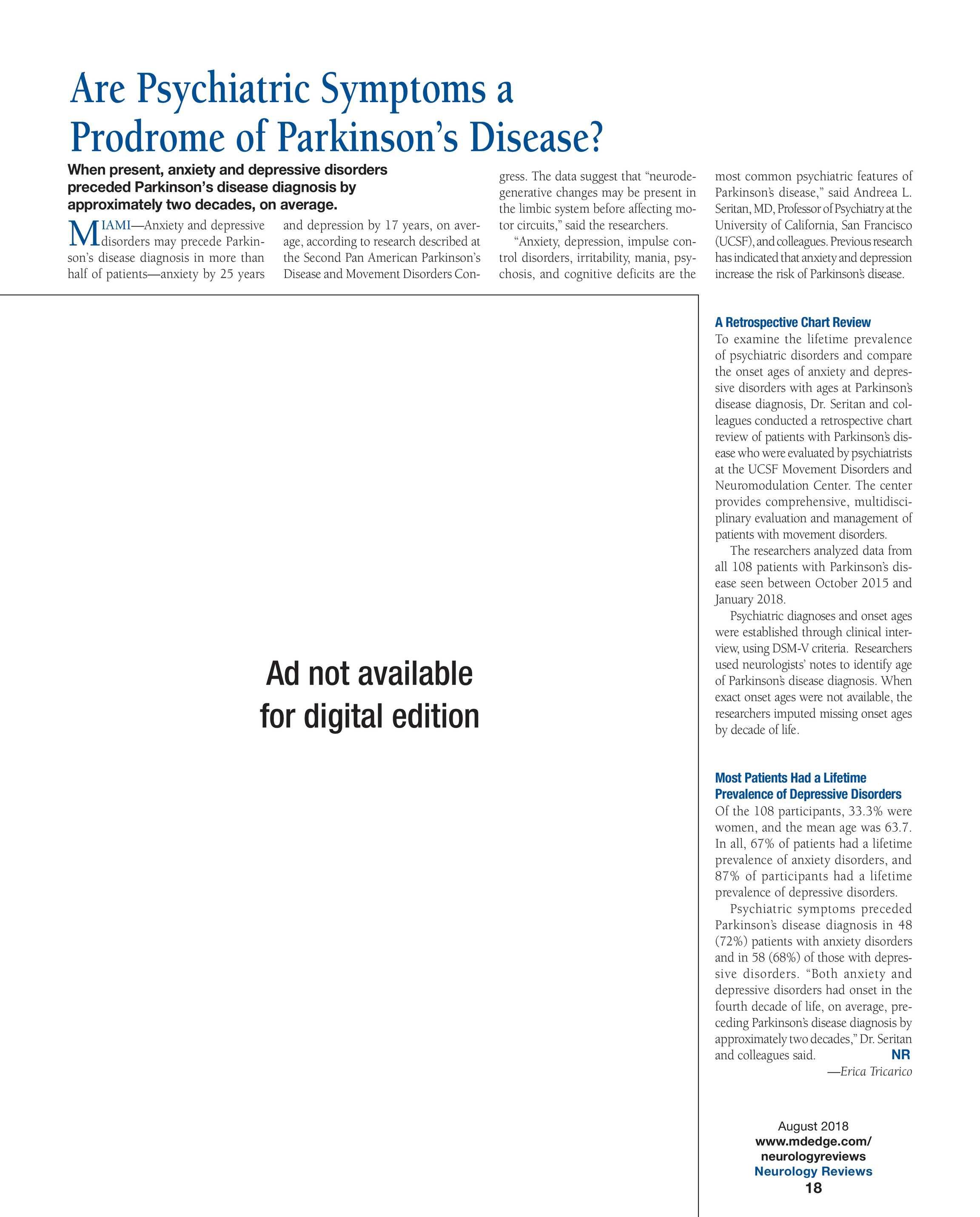 Neurology Reviews - NR Aug 2018 - page 18