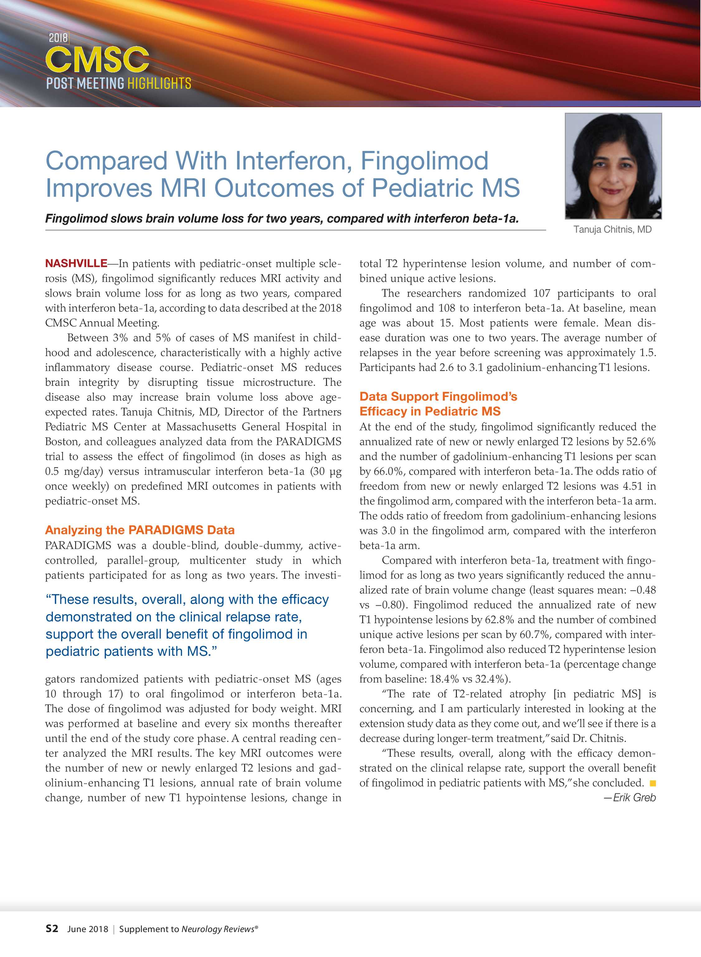 691062225515 Neurology Reviews - NR CMSC Highlights Supp 0618 - page S2
