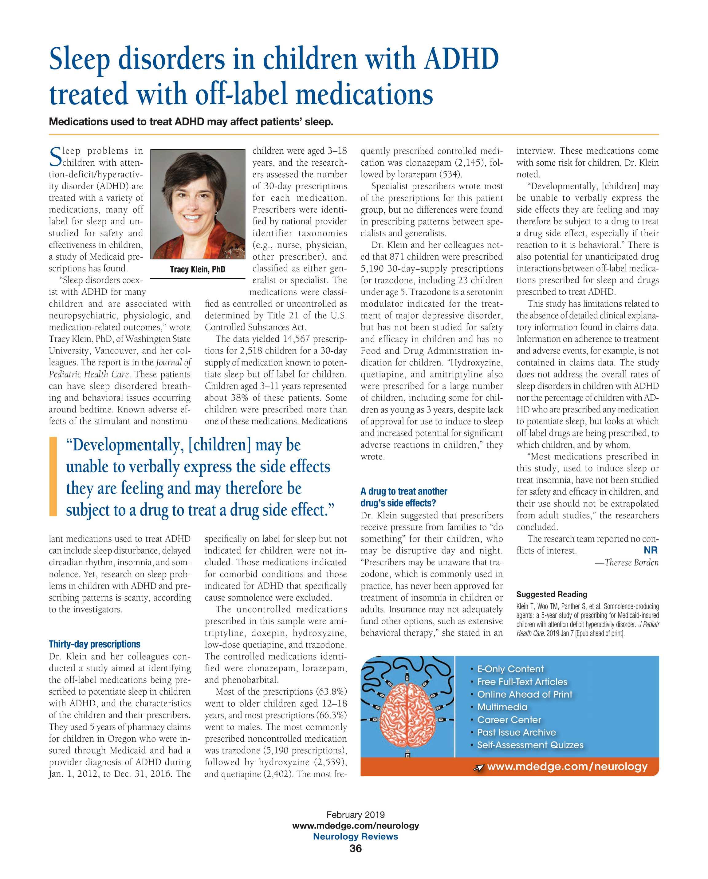 Neurology Reviews - NR Feb 2019 - page 36