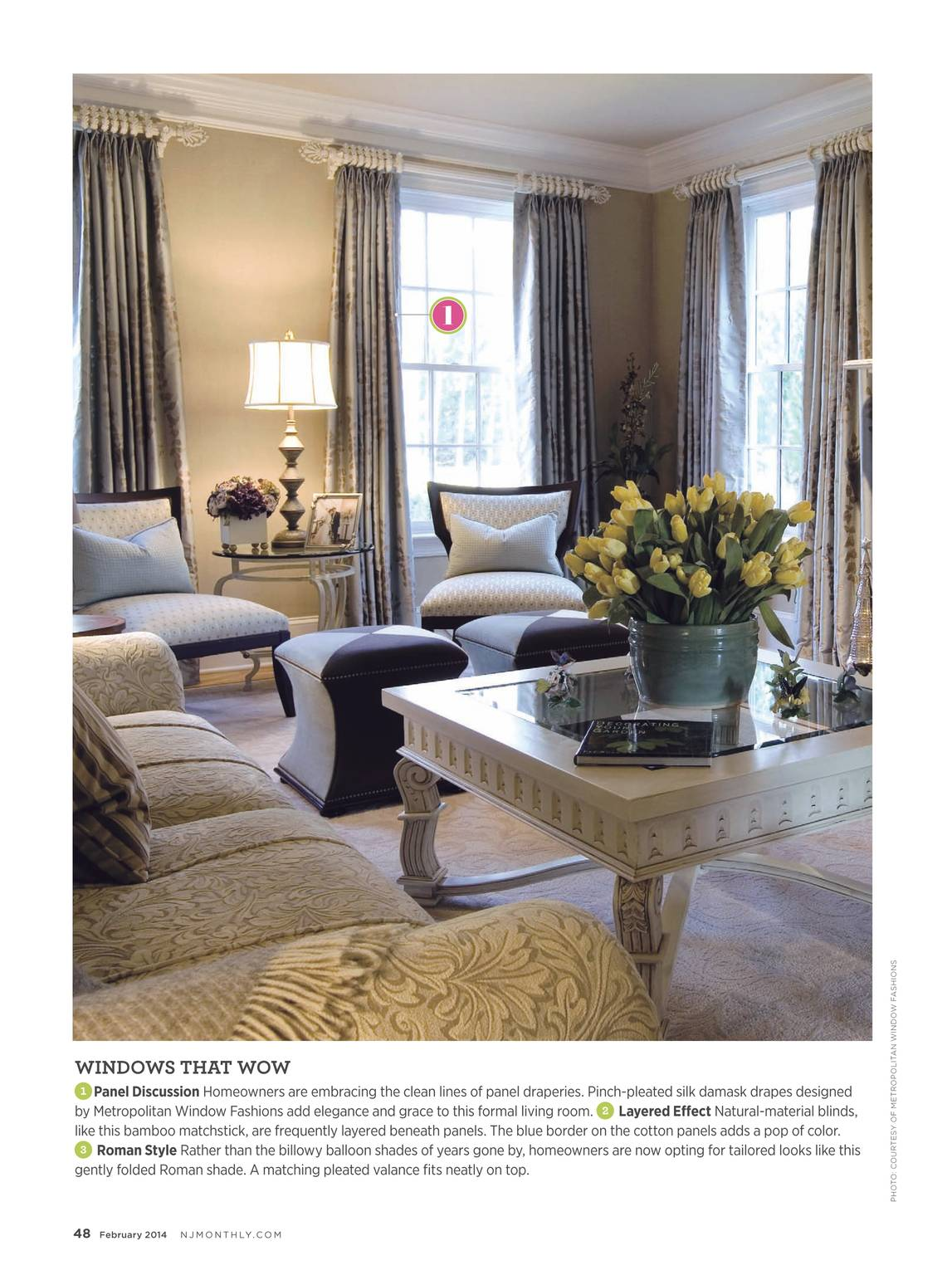 metropolitan window fashions fabric page 48 nj monthly february 2014 page 49