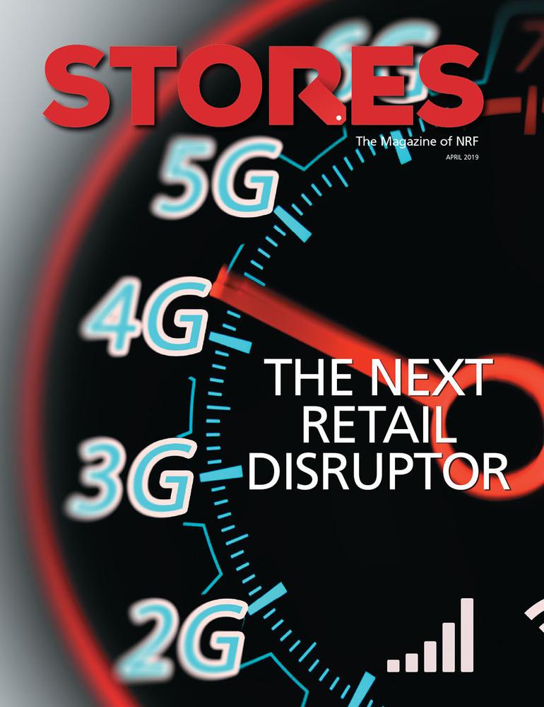 Stores Magazine (NRFK) - April 2019 - Cover