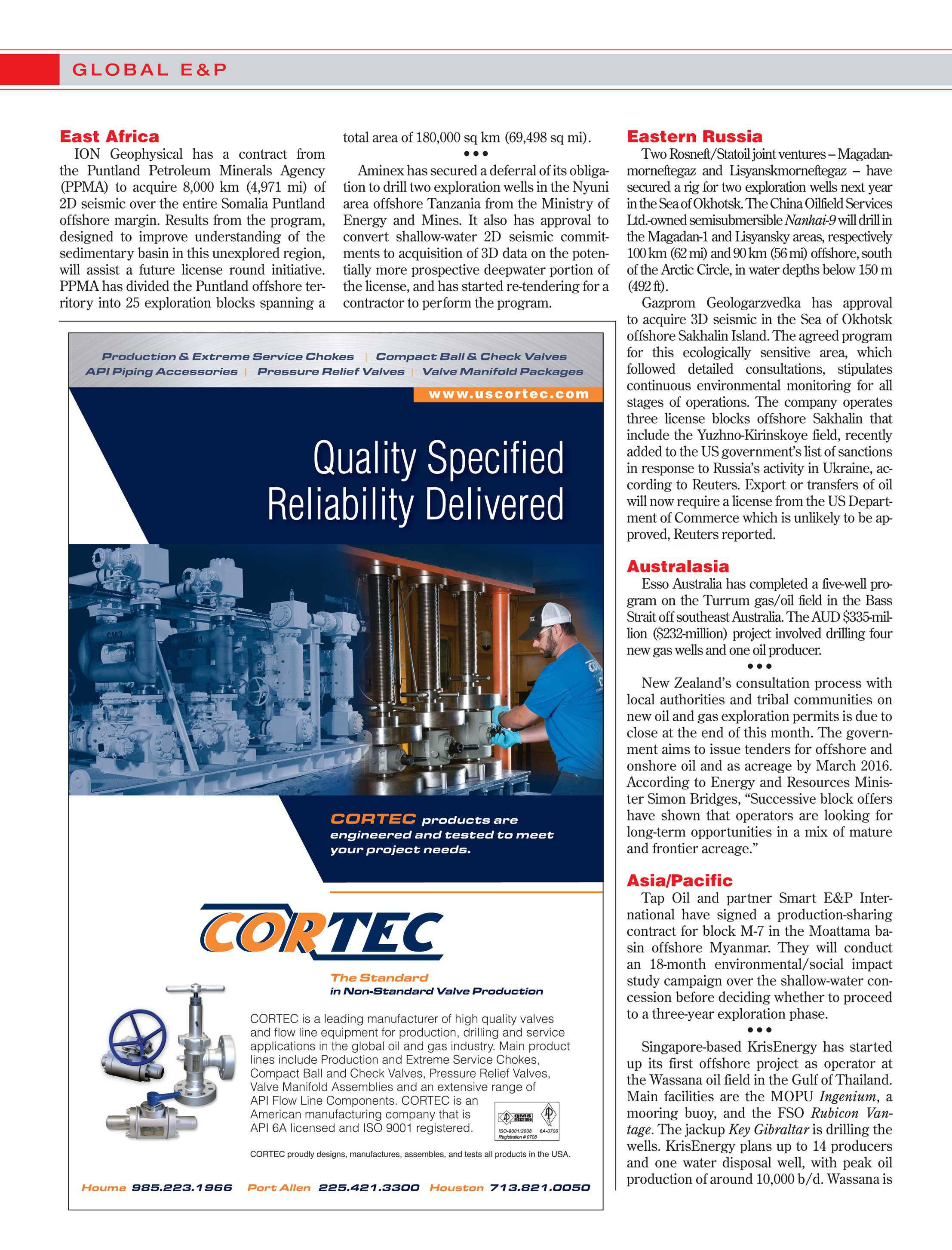 Offshore Magazine - October 2015 - page 14