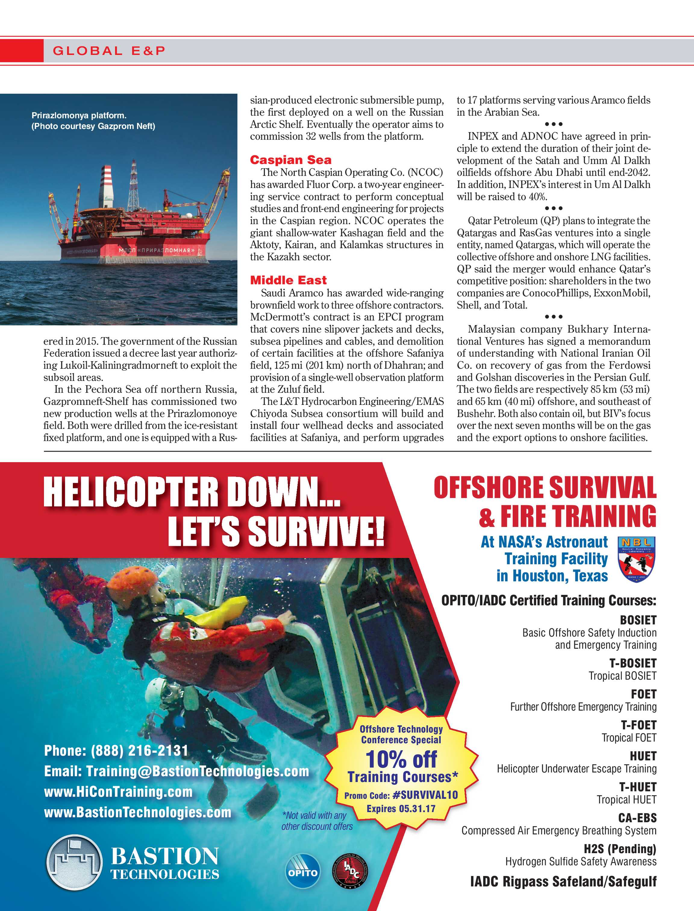Offshore Magazine - March 2017 - page 14