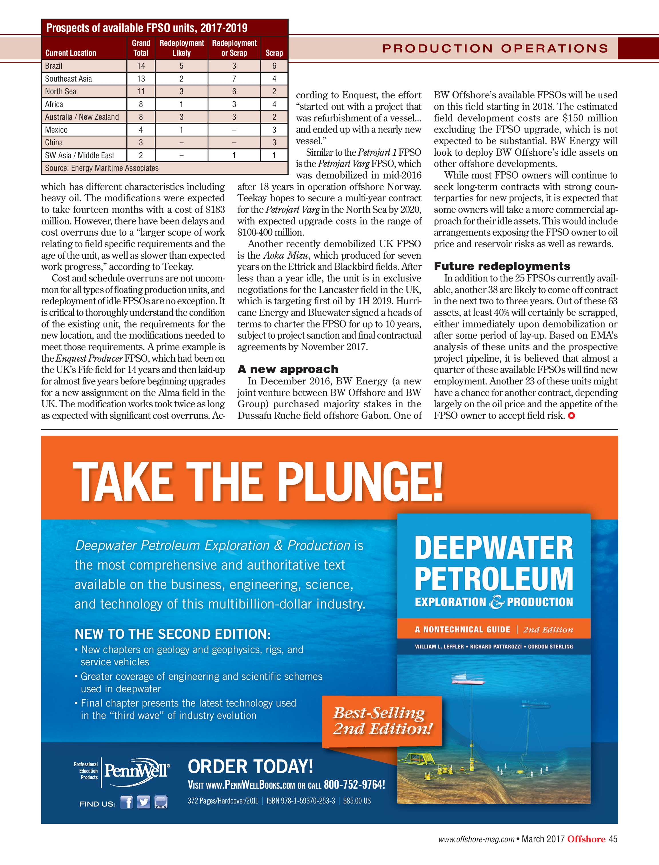 Offshore Magazine - March 2017 - page 45