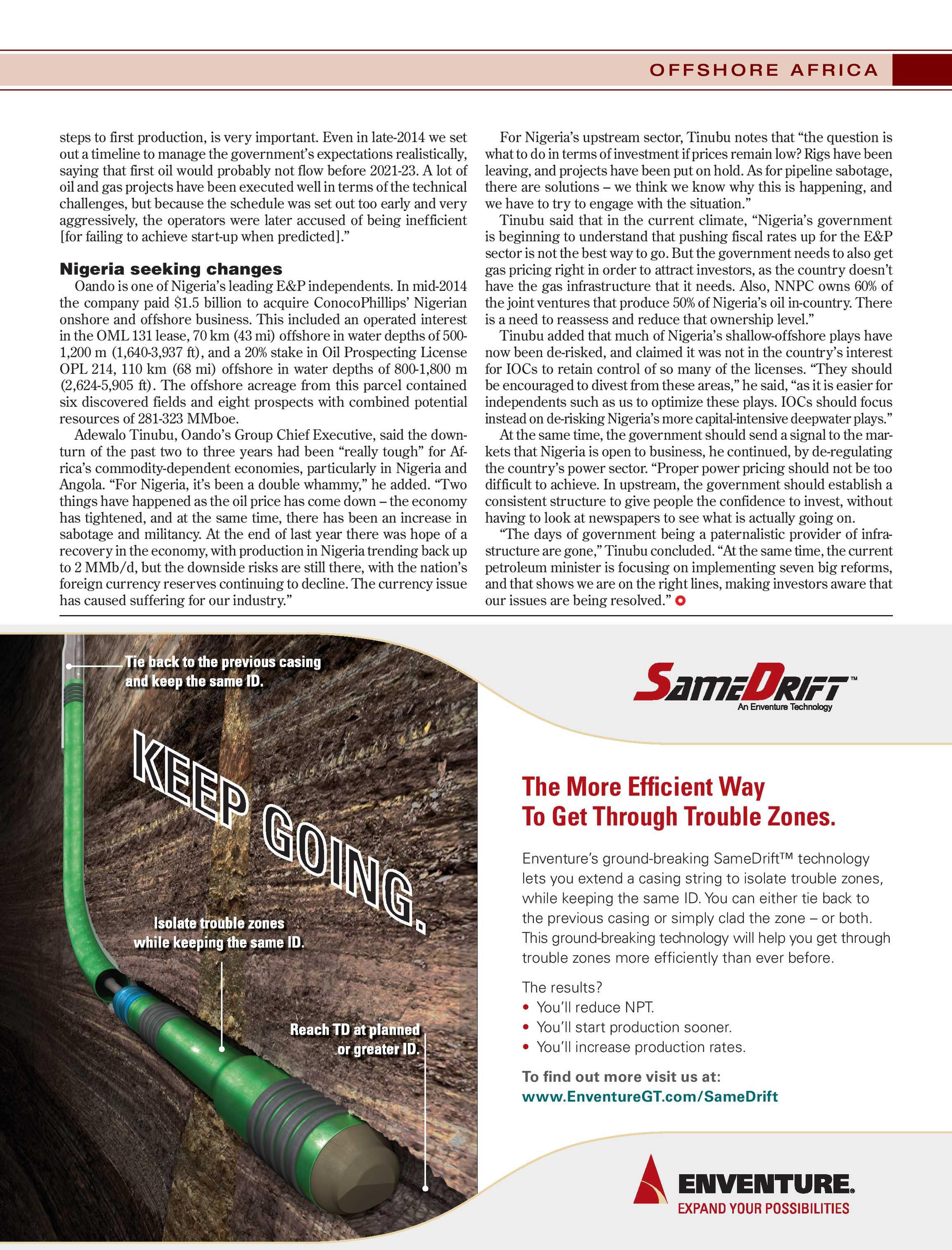 Offshore Magazine - April 2017 - page 29