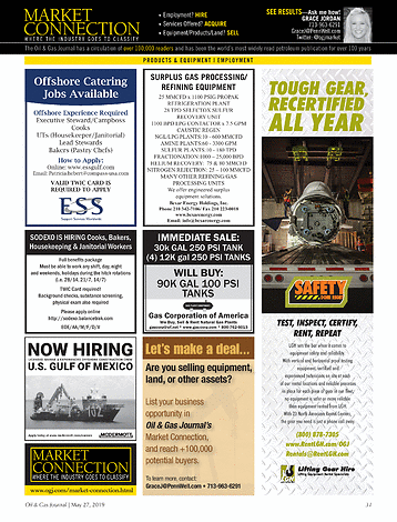 Oil & Gas Journal - May 27, 2019 - page 31
