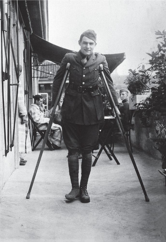 ernest hemingway recovering in milan 1918