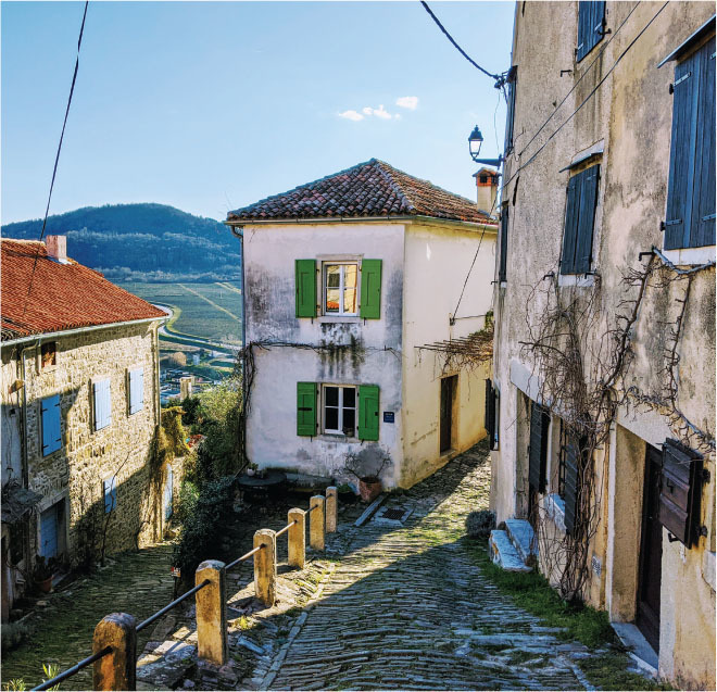 finding spring in istria