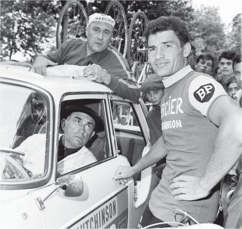 poulidor spent 18 seasons with team mercier
