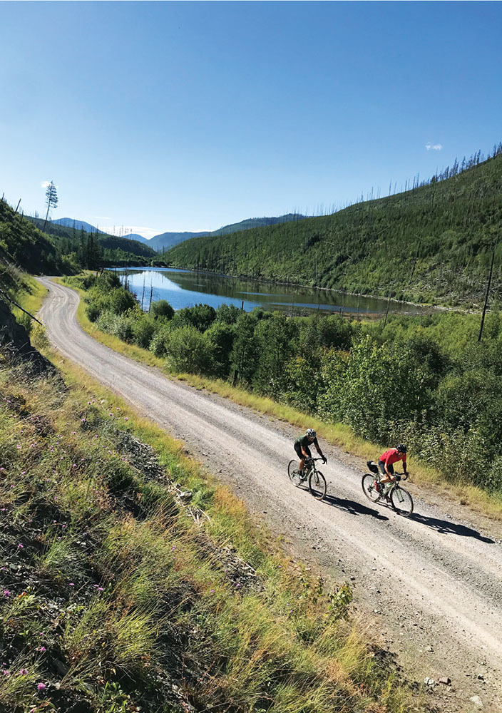 the majestic scenery of the pancake ride in montana