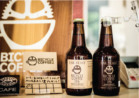 bicycle coffee in japan