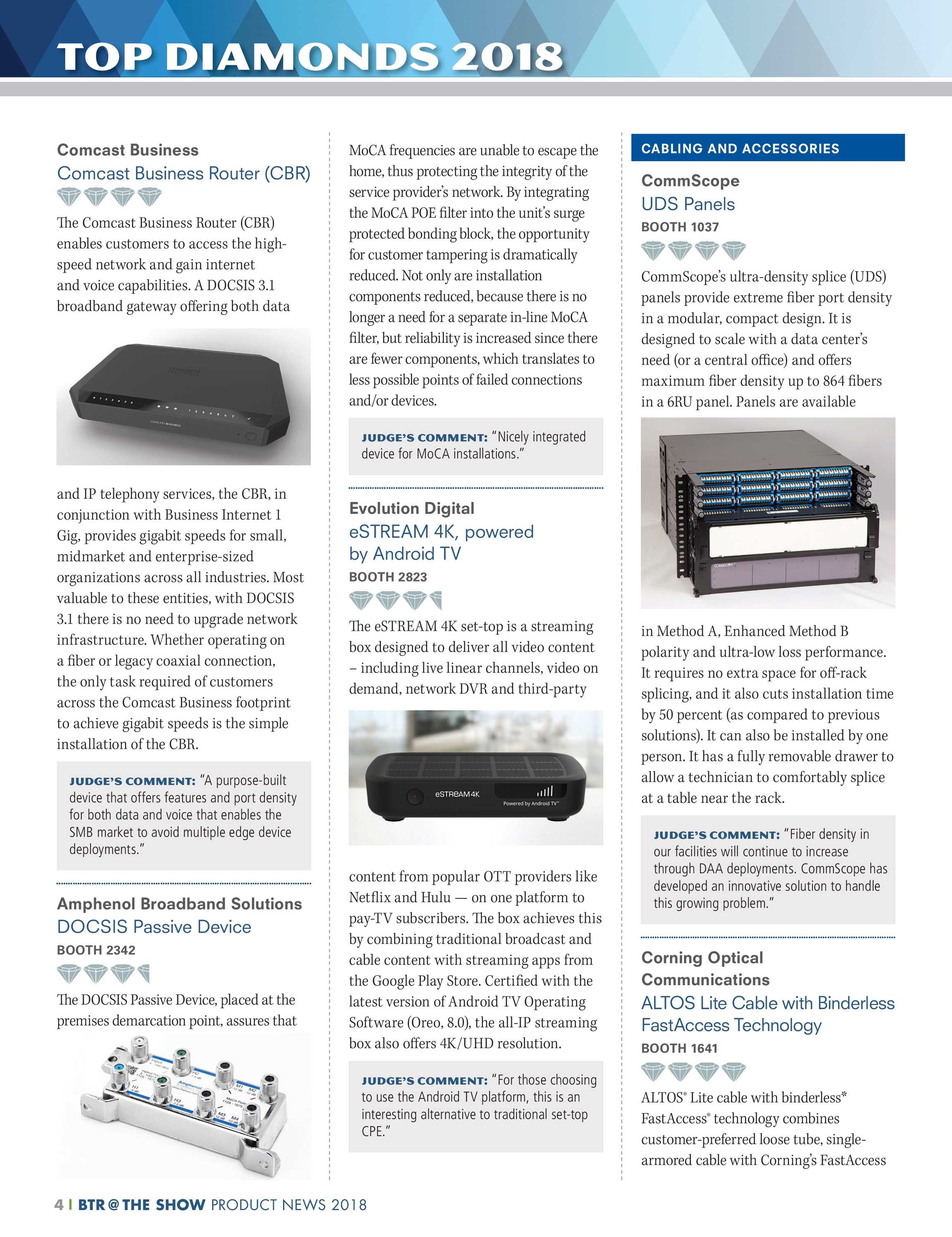 Pennwell Supplements - Broadband Technology Report 2018 - page 4