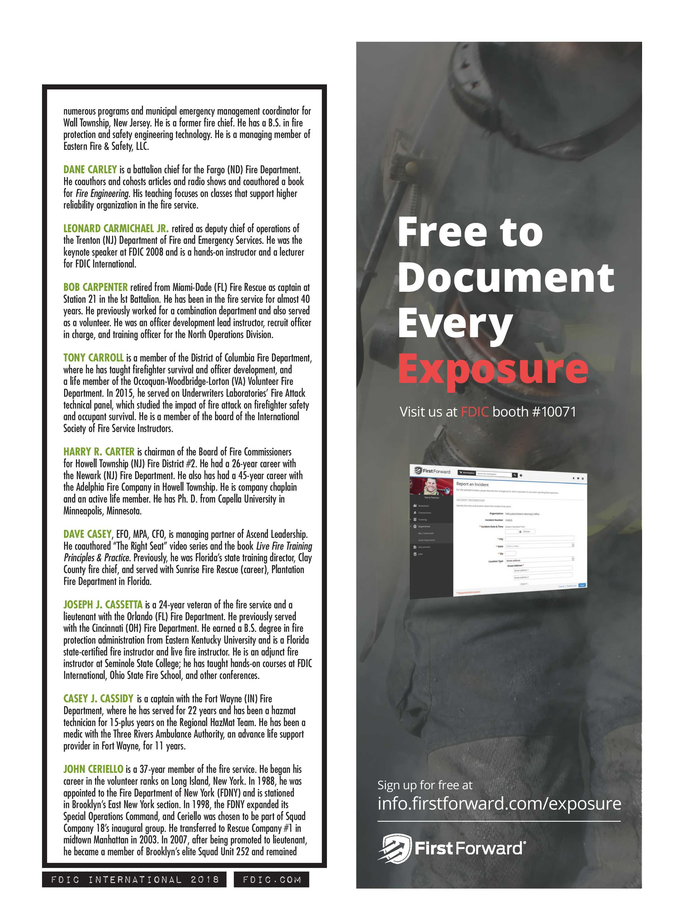 Pennwell Supplements - FDIC 2018 Show Guide - page 129