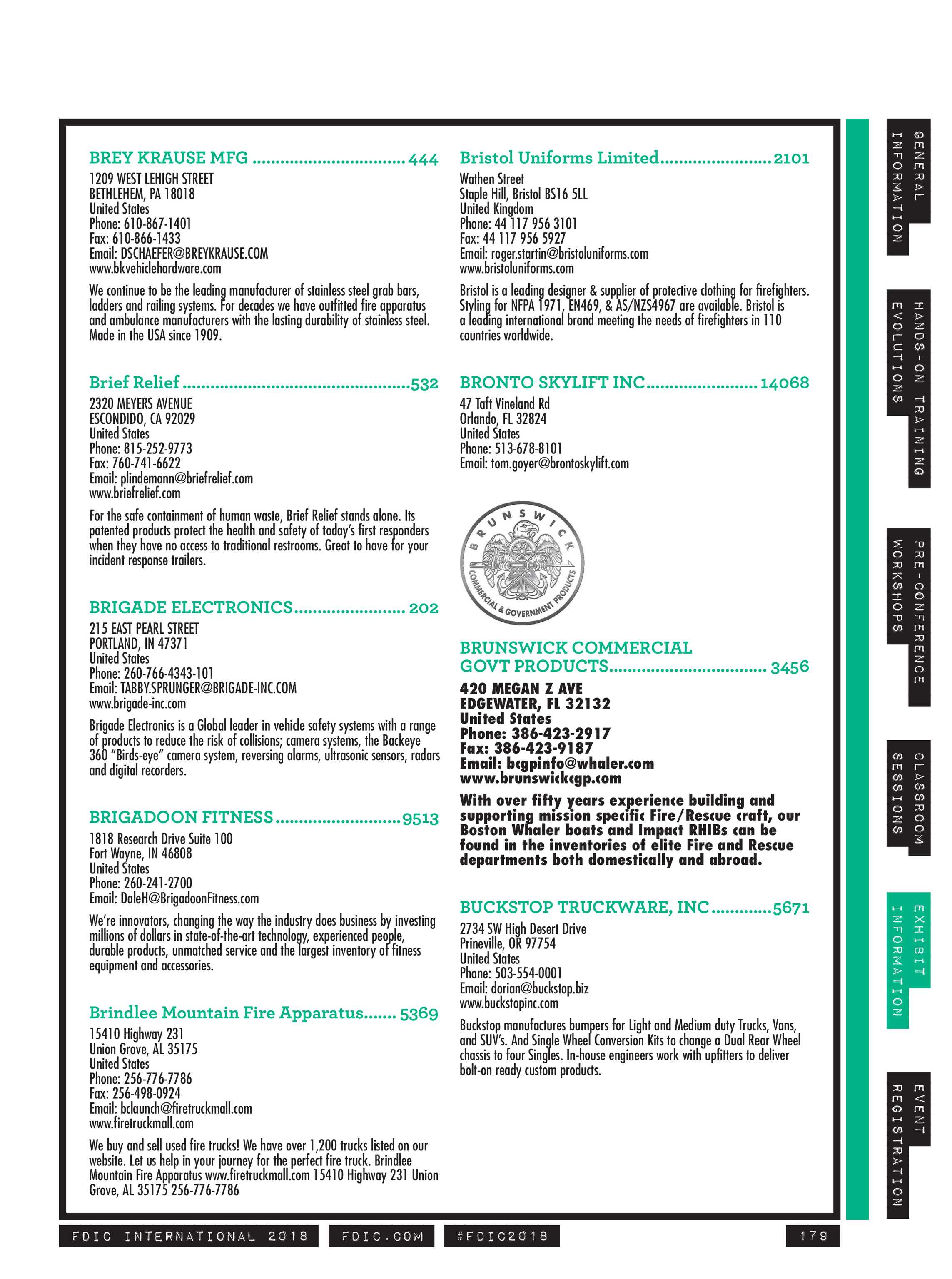 Pennwell Supplements - FDIC 2018 Show Guide - page 179